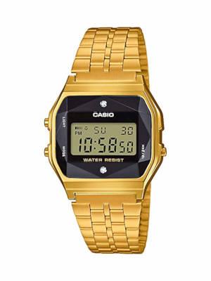 Casio vintage femme diamant et or