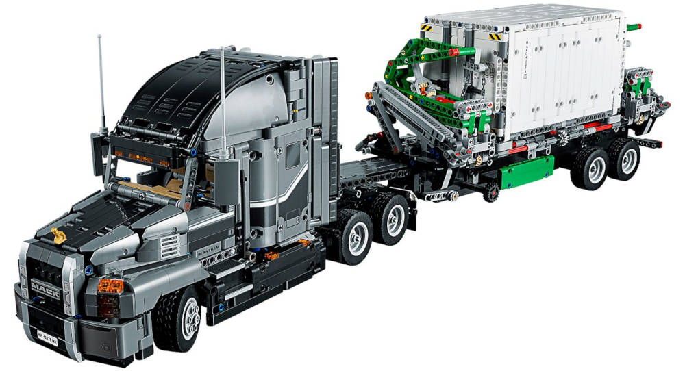 Lego Technic camion Mack avec grue