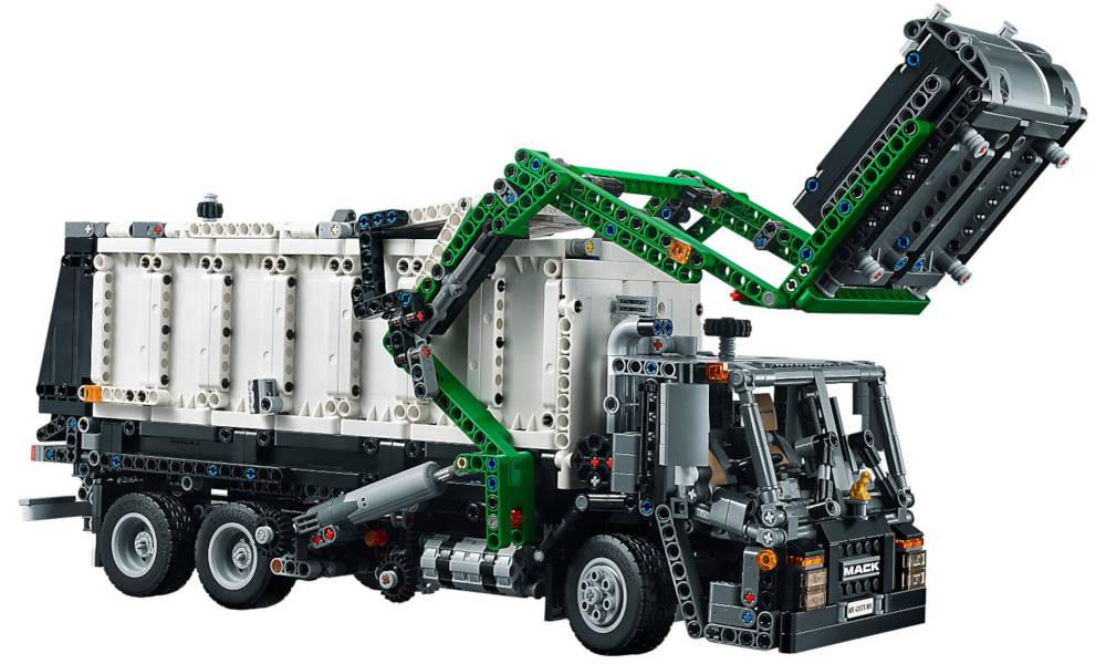 Lego Technic camion poubelle