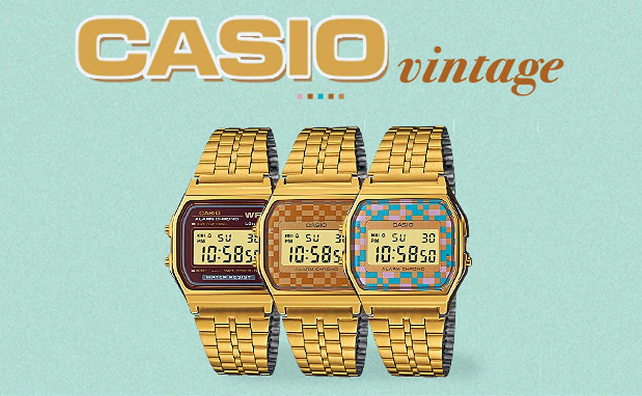 Montre Casio vintage