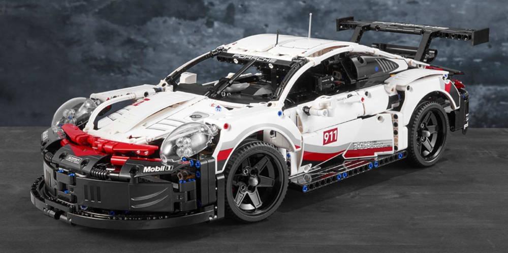 Porsche 911 Lego Technic