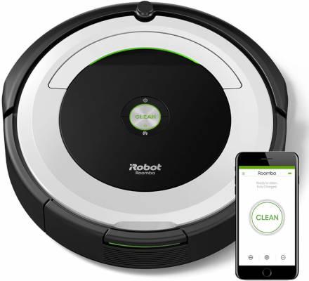 Aspirateur robot silencieux iRobot